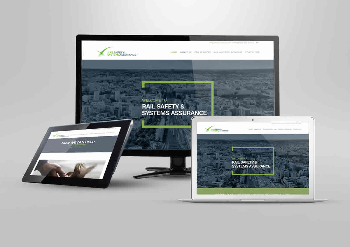 Rail SSA Website Design & Build